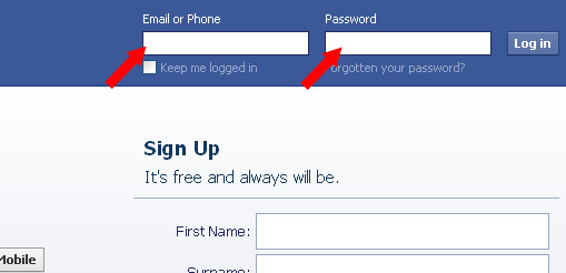 how to change facebook language screenshots